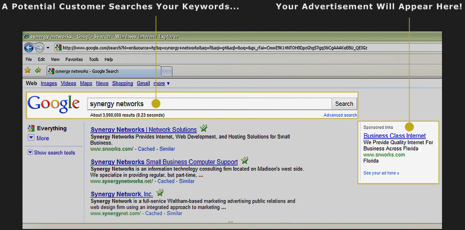 Google Advertising and web marketing